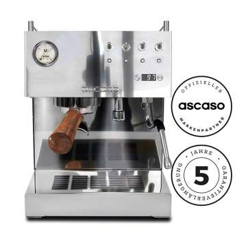Ascaso Steel DUO PID inox&wood