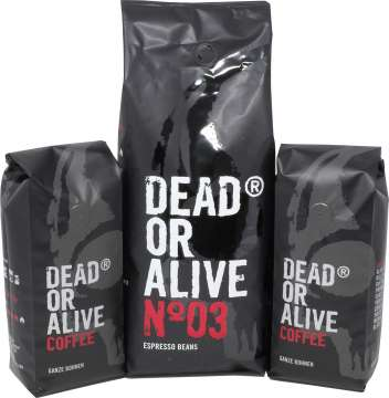 Dead or Alive Coffee Probierset