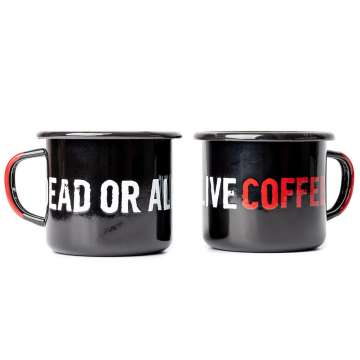 Dead or Alive Coffee Mug 350ml Schwarz